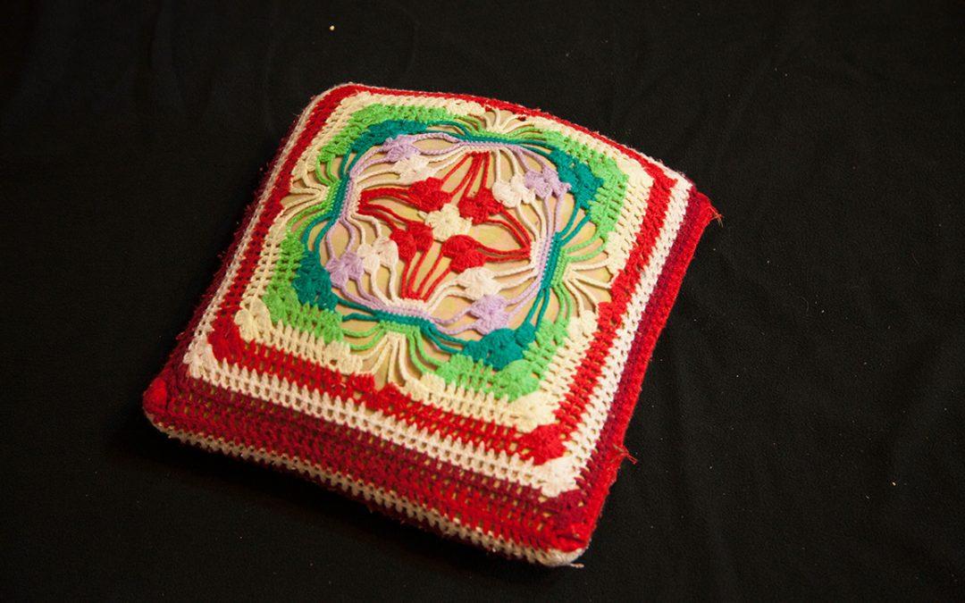 手工針織椅墊:3