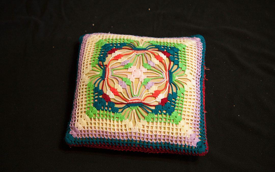 手工針織椅墊:4
