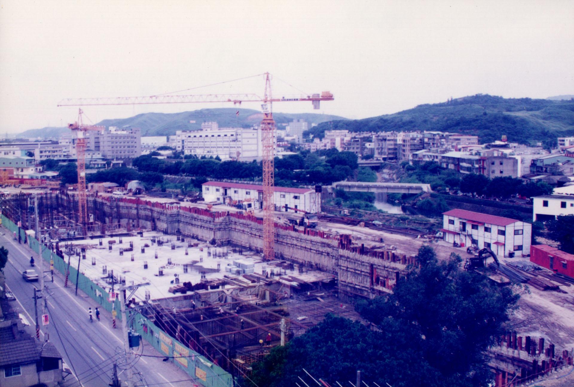千禧新城建造過程