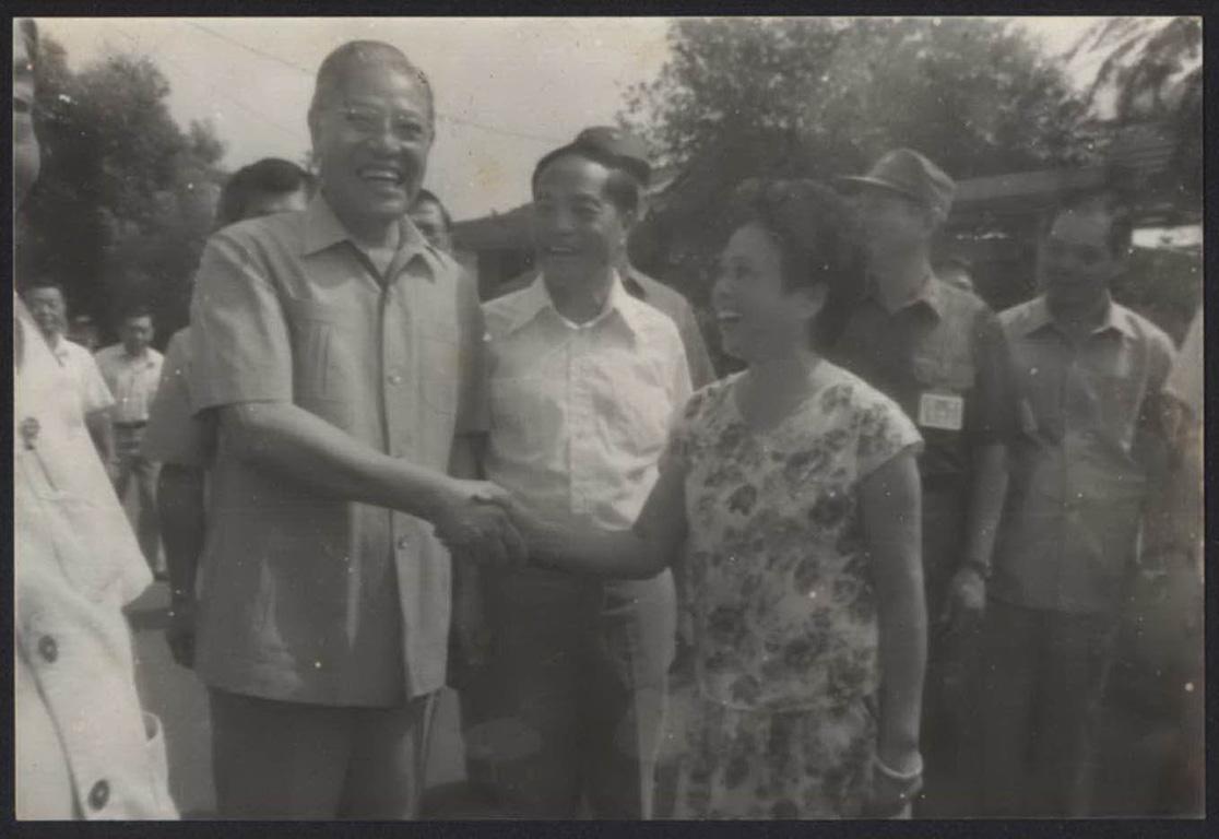 李登輝總統參訪馬祖社區