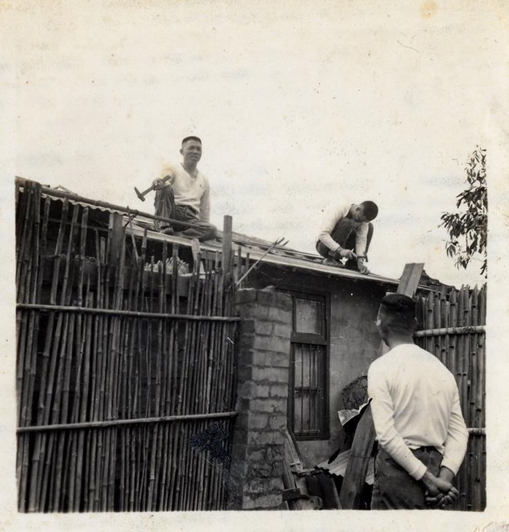後院裡的小屋增建