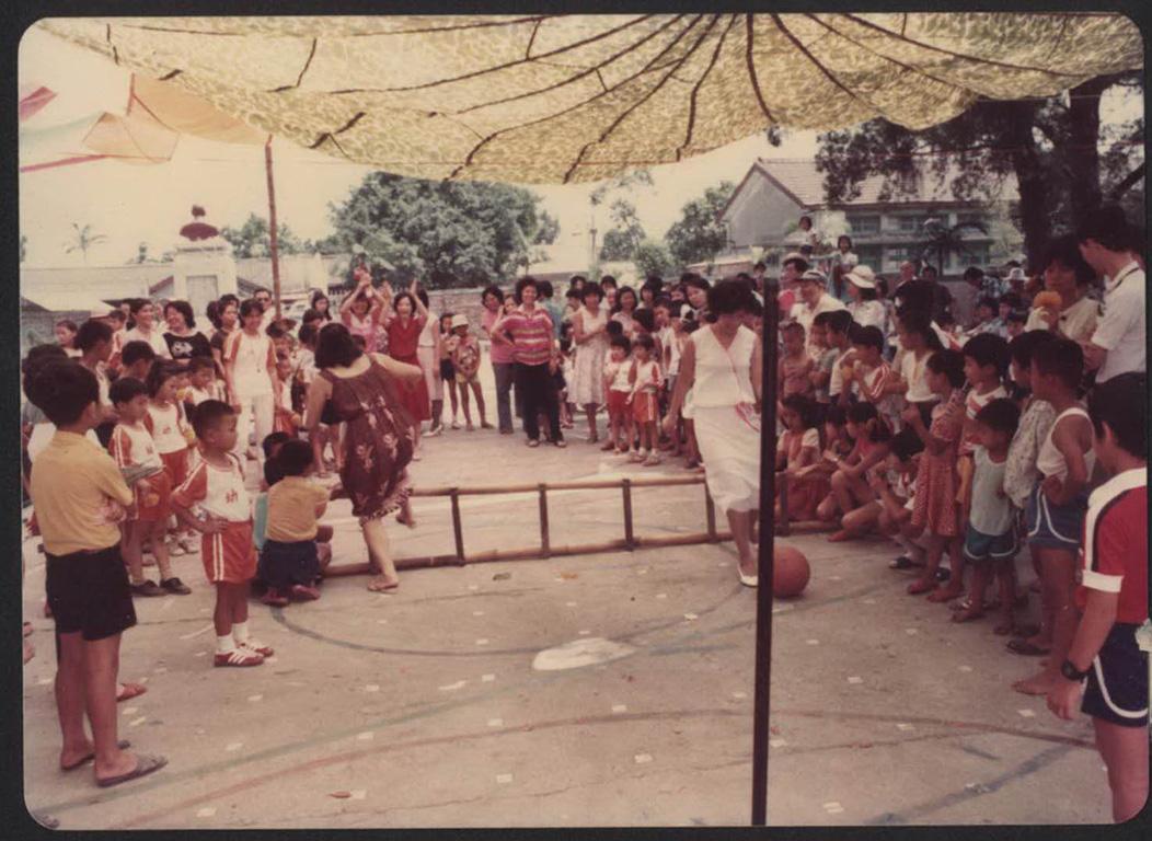 馬組幼稚園運動會老照片