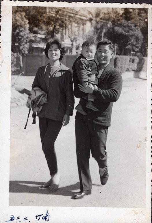 民國46年於竹南拍攝