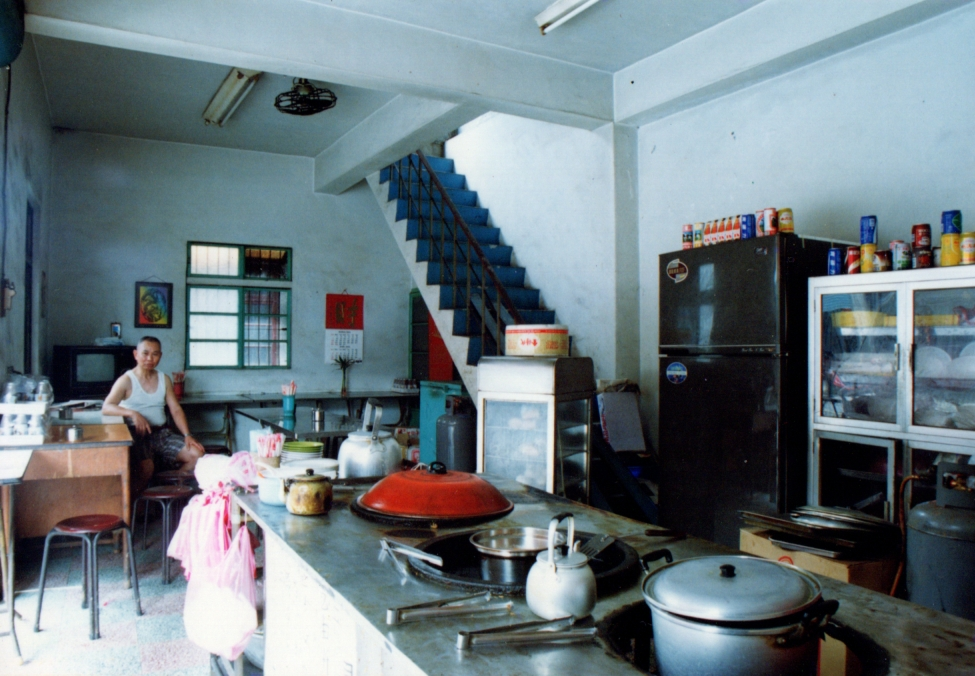精忠五村裡的一間早餐店