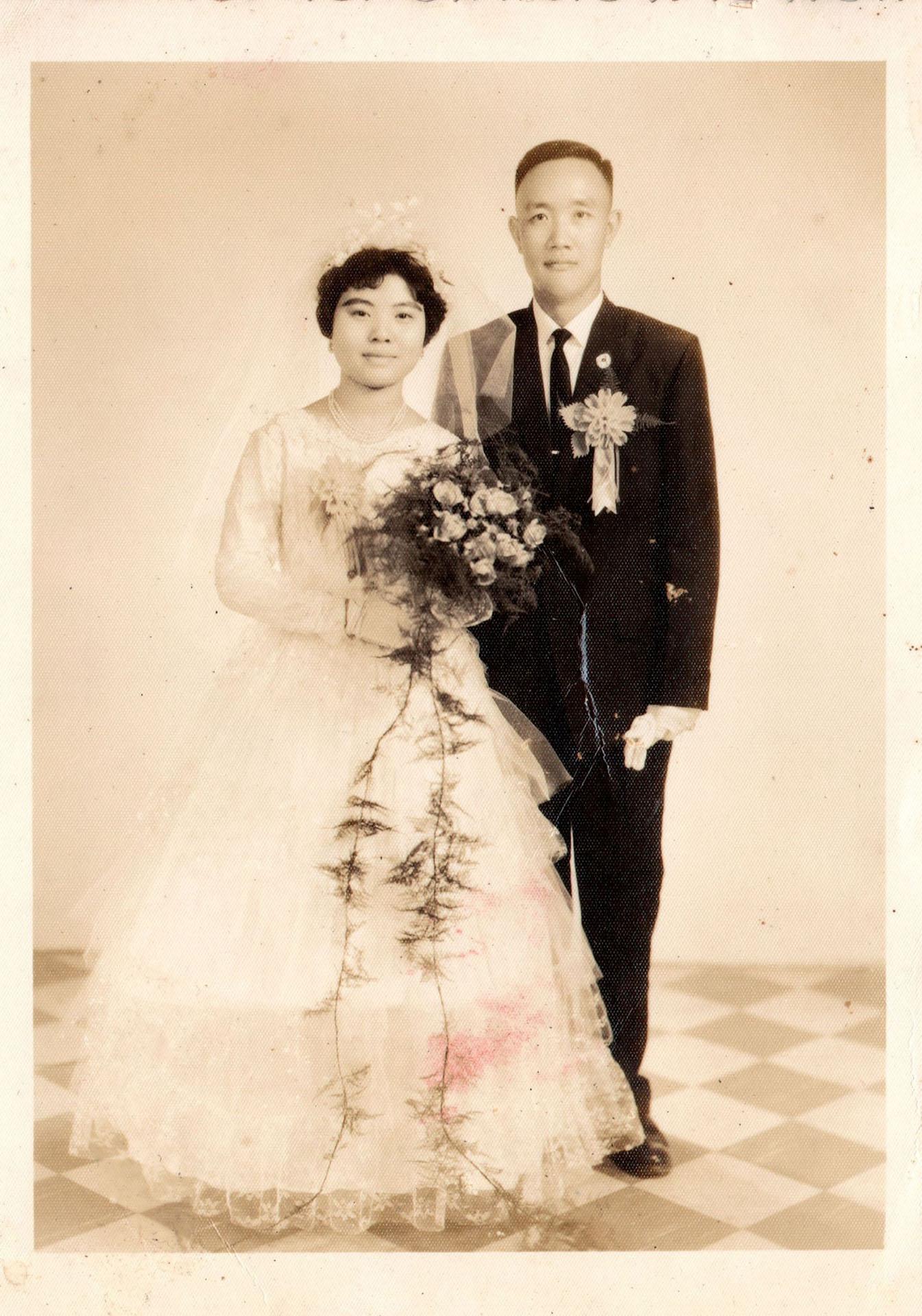 陸光三村周有道婚紗照
