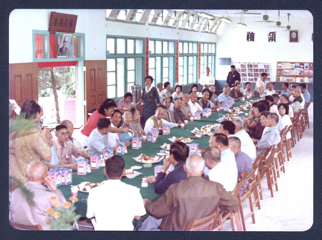 舊活動中心的內部配置與會議